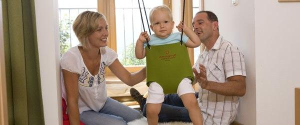 Eltern lieben Hotels für Babys und Kinder