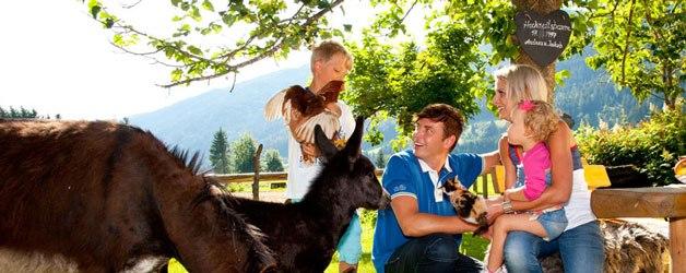 Familienurlaub in den österreichischen Alpen